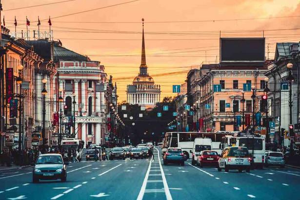 Petersburg, Rosja, Fot. Yulia Grigoryeva.Shutterstock