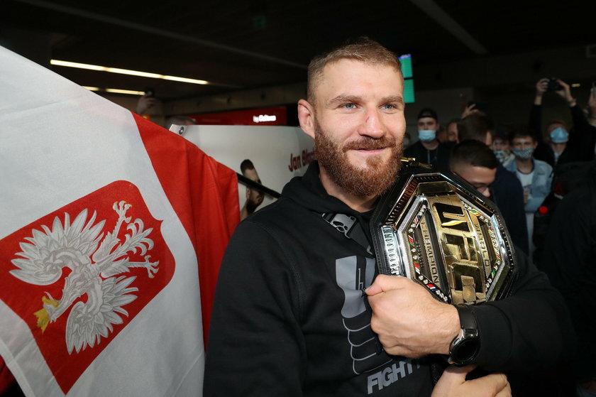 Jan Błachowicz (37 l.) ma za sobą trzy znakomite lata. Wygrał 8 z 9 pojedynków i sięgnął po tytuł UFC kategorii półciężkiej