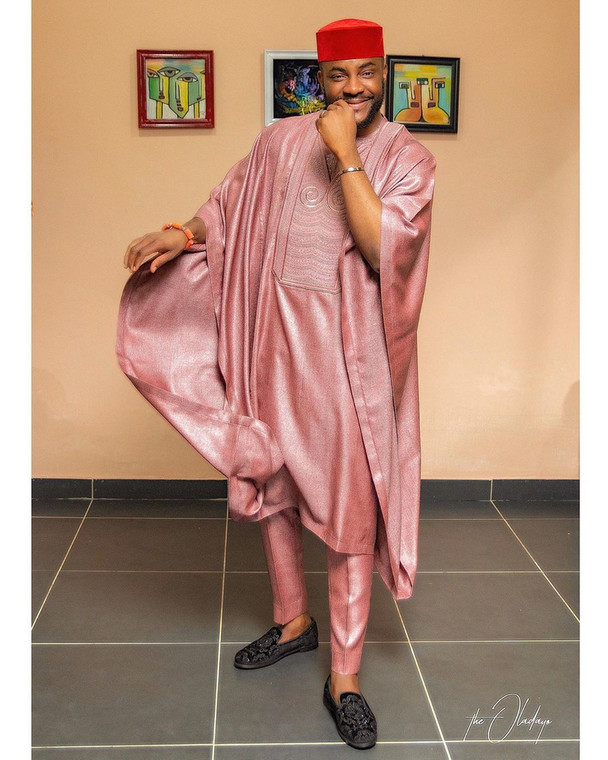 He keeps setting trends through his style of dressing which he showcases either on TV while hosting the hugely successful BB Naiga or through his Instagram where he has over two million followers. [Instagram/Ebuka]