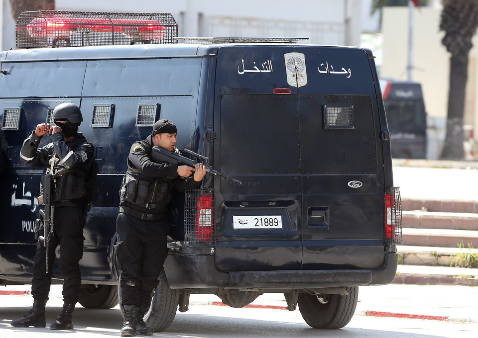 TUNISIA UNREST SECURITY OPERATION (hostage situation)