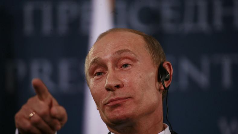 Coraz niższe poparcie dla Władimira Putina