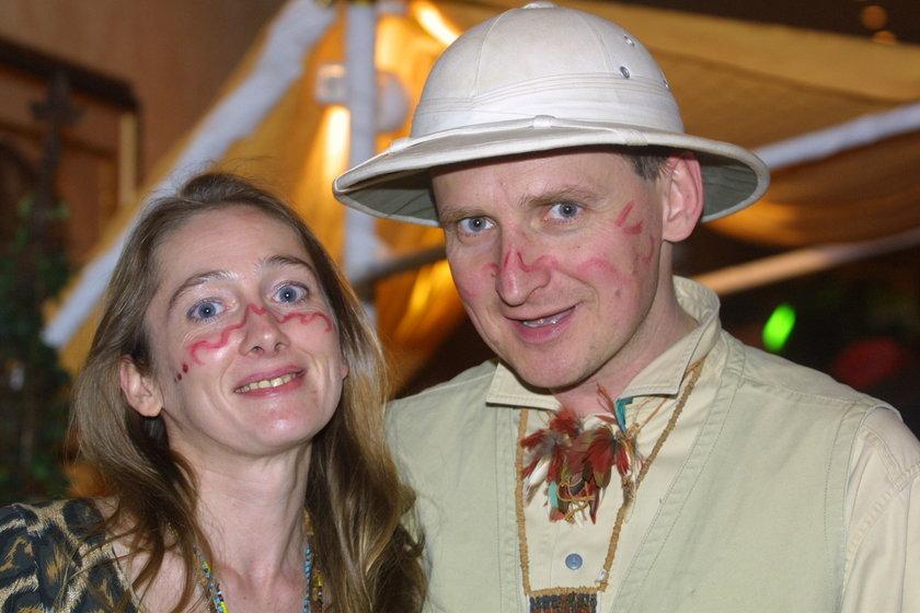 Beata Pawlikowska i Wojciech Cejrowski