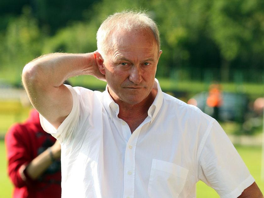 Franciszek Smuda lubi zagonić piłkarzy do ciężkiej pracy.