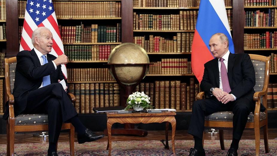 Szczyt Biden Putin w Genewie
