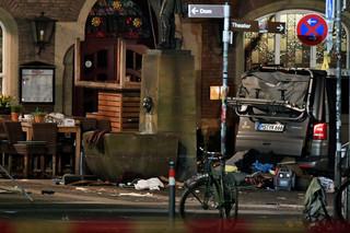 Sprawca ataku w Muenster to Jens R., mieszkaniec tego miasta