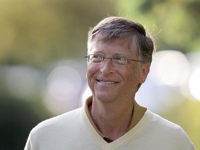 Bill Gates w klipie nakręconym dla jednego z amerykańskich talk show