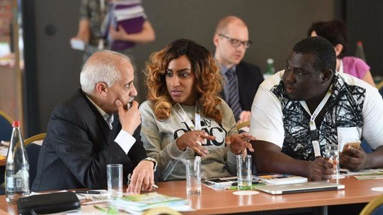 Juliet Ibrahim attends 2016 international kidney cancer coalition conference