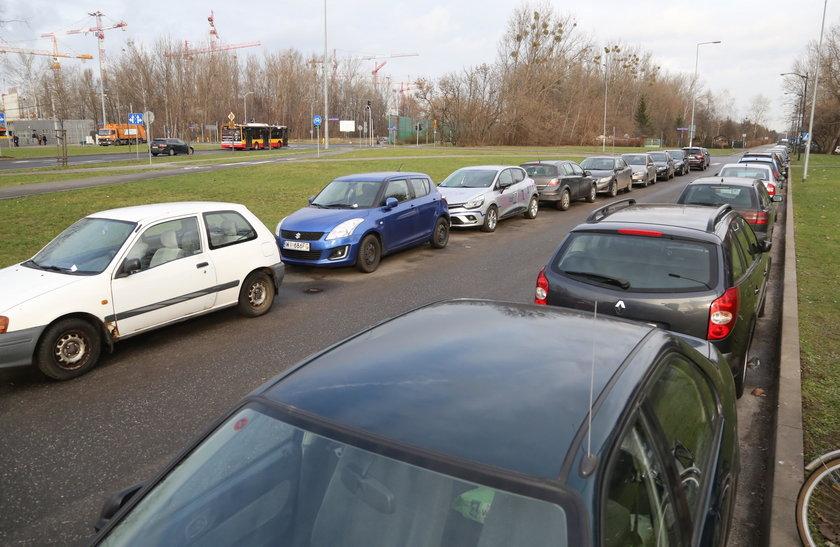 Wielki parking prawie gotowy