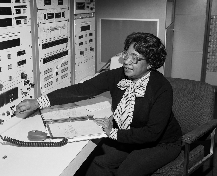 Mary Jackson, 1980, NASA Langley / Donaldson Collection / GettyImages