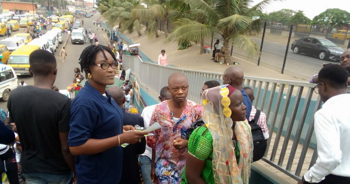 Ikeja NSE begins footbridge use campaign, tasks government on maintenance - Pulse Nigeria