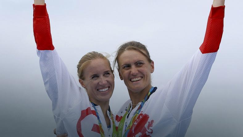 Heather Stanning (z prawej)