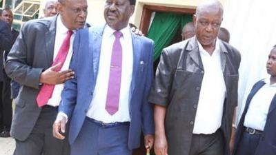 Murathe in closed-door meeting with Atwoli and Orengo hours after telling Kenyans to prepare for a Raila Presidency [Video]