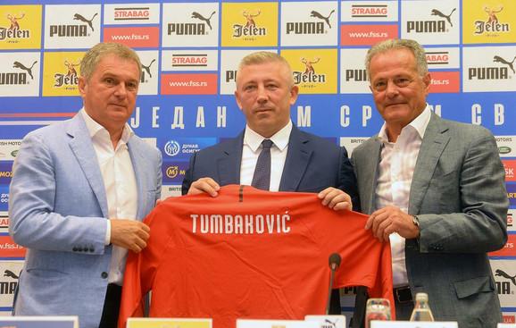 Slaviša Kokeza, Nenad Bjeković i Ljubiša Tumbaković