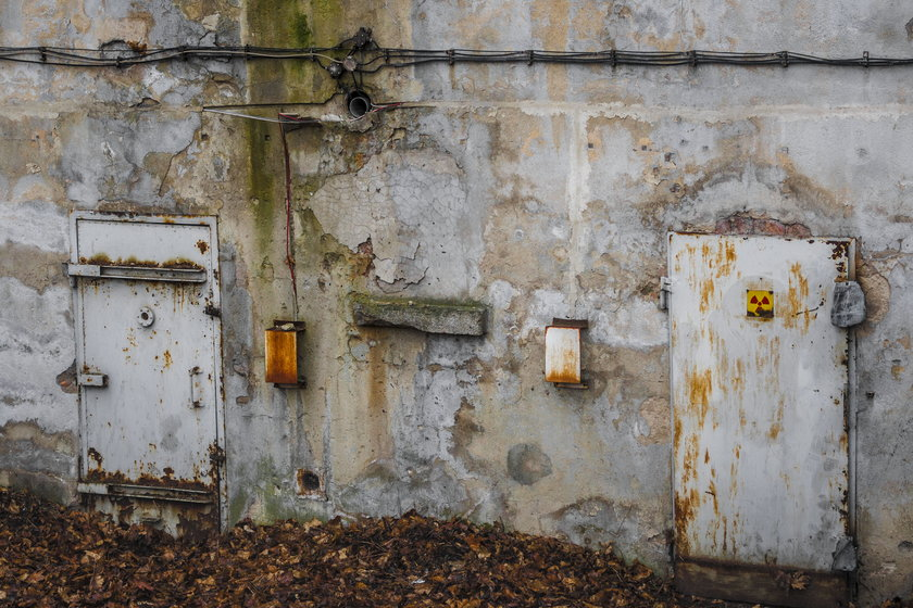 Będzie ogródek gastronomiczny w schronie z promieniotwórczym kobaltem?