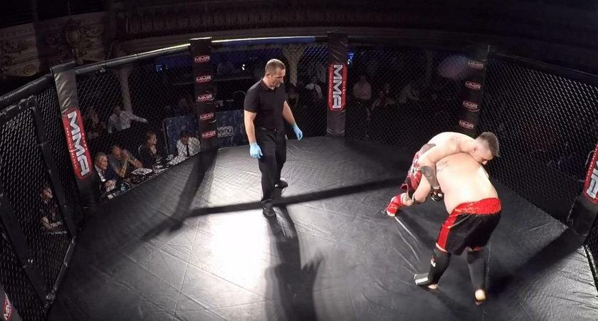 Ojciec małej Madzi walczy amatorsko w MMA