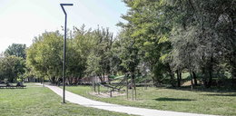 Park Stacja Wisła na Zabłociu jest w fatalnym stanie