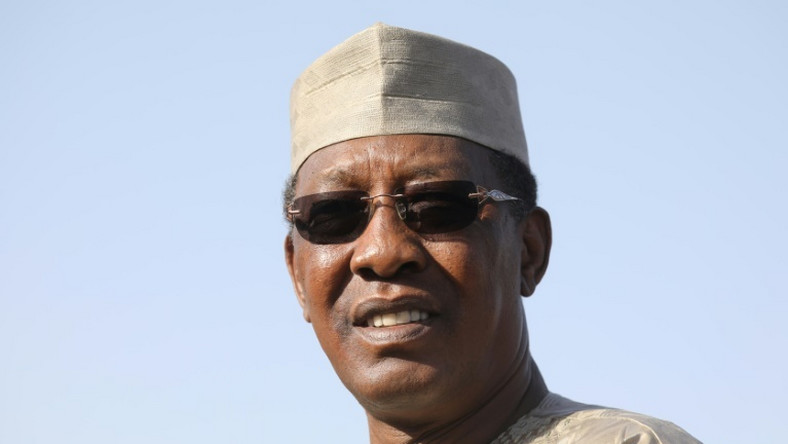 Chad's President Idriss Deby announcing an amnesty programme last May