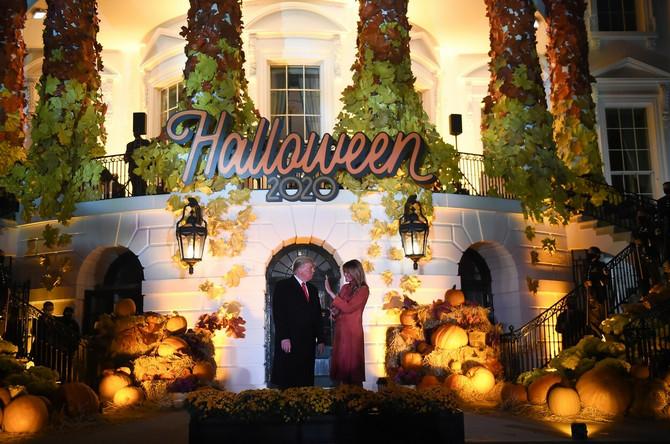 Melanija i Donald Tramp slavili Noć veštica