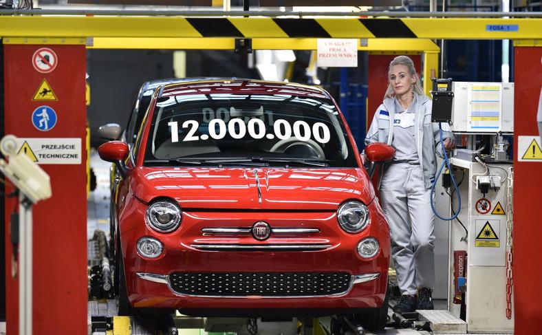 Fiat 500 - FCA Tychy