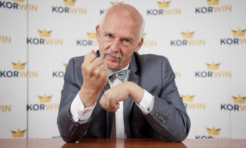Korwin-Mikke idzie do sądu. Będzie się domagał dużych pieniędzy