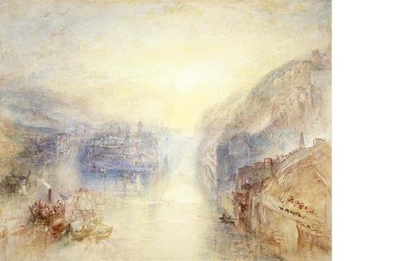 Pasau, ušće Ina i Dunava, 1840.