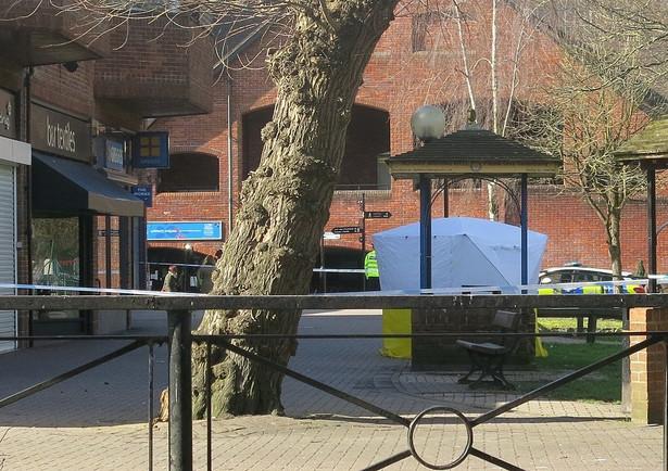 Miejsce ataku na Skripalów w Wielkiej Brytanii