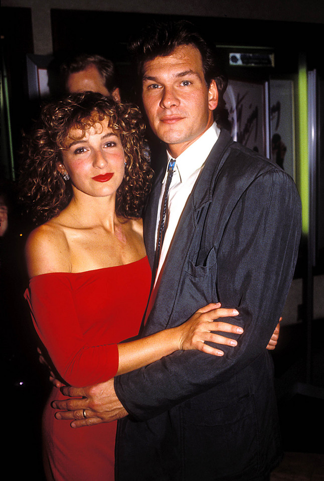 "Jennifer Grey na premierze filmu ""Dirty dancing"""