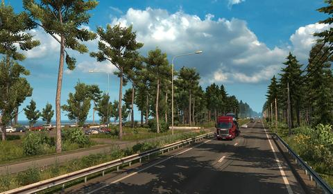 Euro Truck Simulator 2 - dodatek Beyond the Baltic Sea na pierwszym gameplayu
