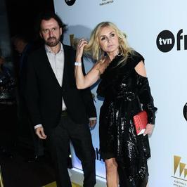Monika Olejnik w cekinowej sukience na 20. urodzinach TVN. Jak się prezentowała w Gdyni?