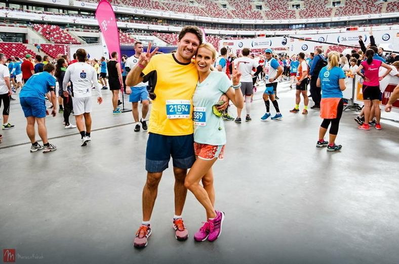 Bieganie z mężem to okazja by dłużej pobyć razem w świetnej formie, fot. Mariusz Kubiak