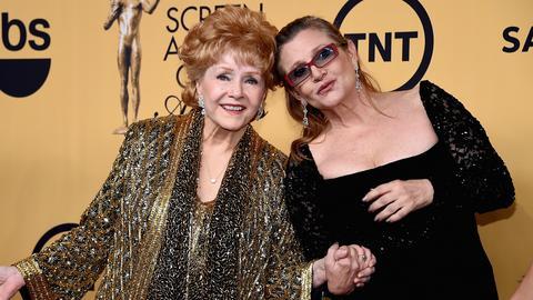 Carrie Fisher i jej mama Debbie Reynolds