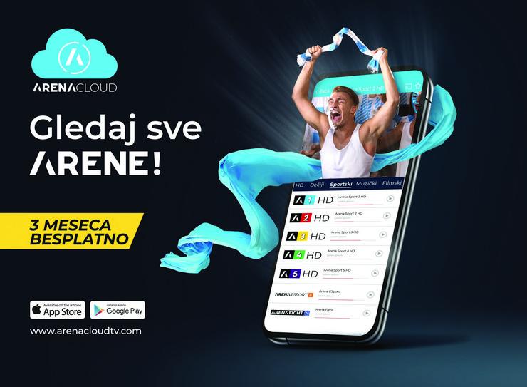 Arena cloud app bez QR koda