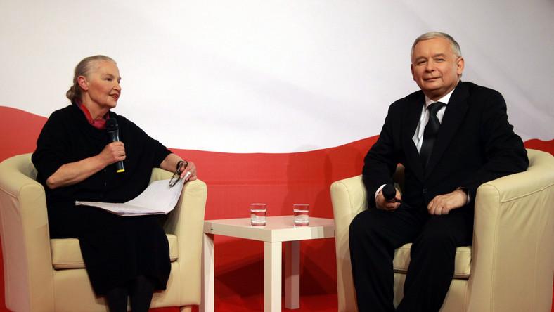 Staniszkis radzi Kaczyńskiemu, co zrobić z PiS
