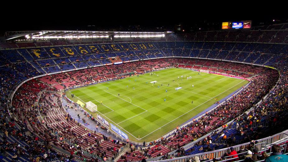 Camp Nou (zdjęcie ilustracyjne)