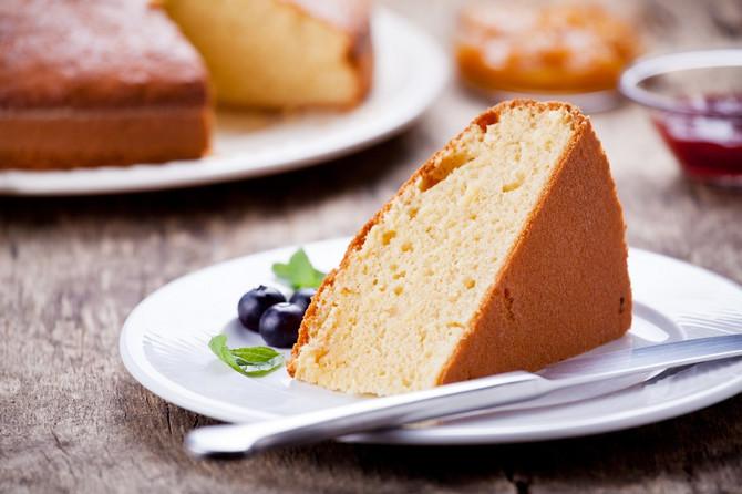 Brz i lagan kolač od vanile