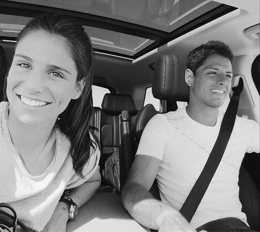 "Javier ""Chicharito"" Hernandez i Lucia Villalon są razem!"
