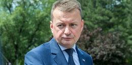Mariusz Błaszczak mocno uderza w opozycję. Mówi o obgryzaniu paznokci