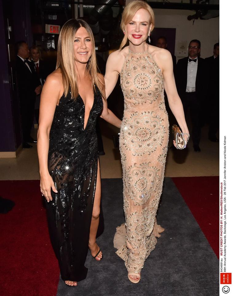Jennifer Aniston i Nicole Kidman