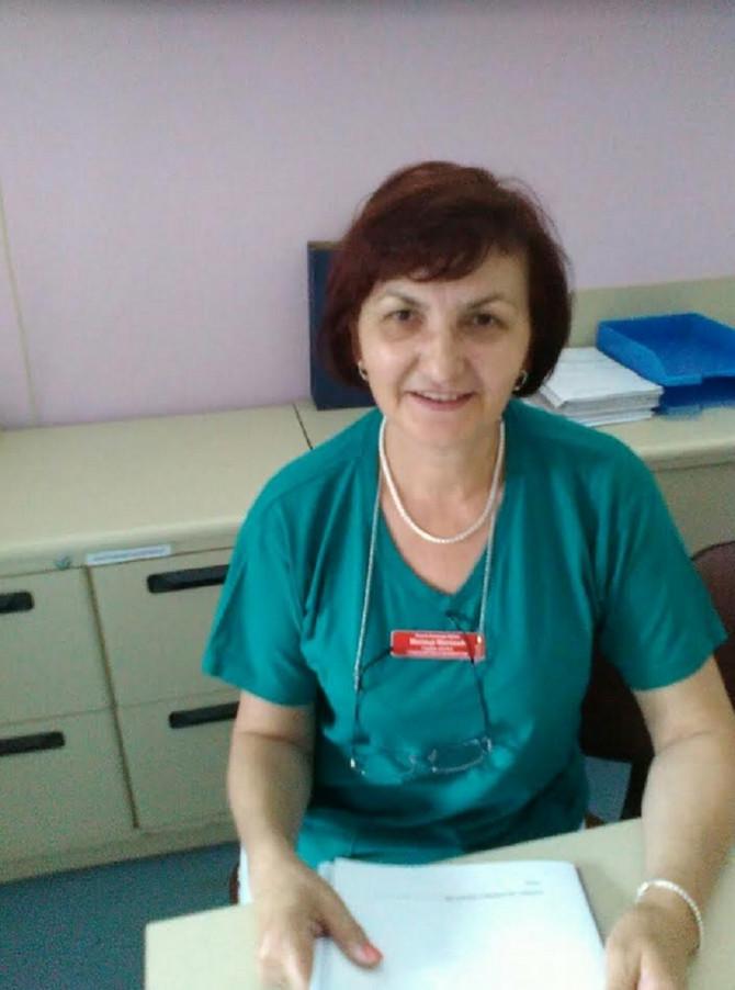 Milica Matović, glavna sestra Službe ginekologije i akušerstva sa neonatologijom Opšte bolnice u Vrbasu