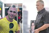 marko milicev i Bojan Jovanovic sa slikom sina Luke kombo