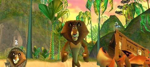 Screen z gry Madagaskar