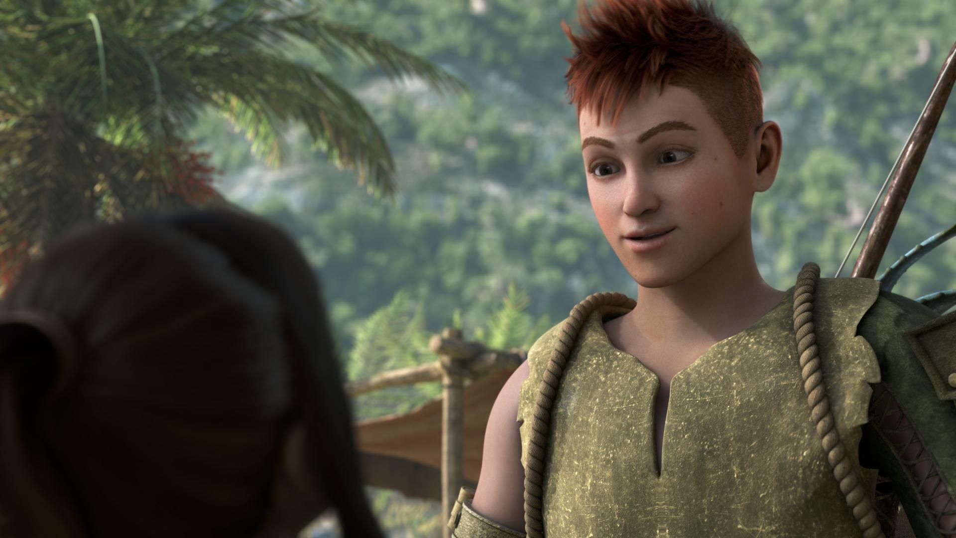 Aiden typický mladý hrdina – talentovaný, no príliš horlivý.