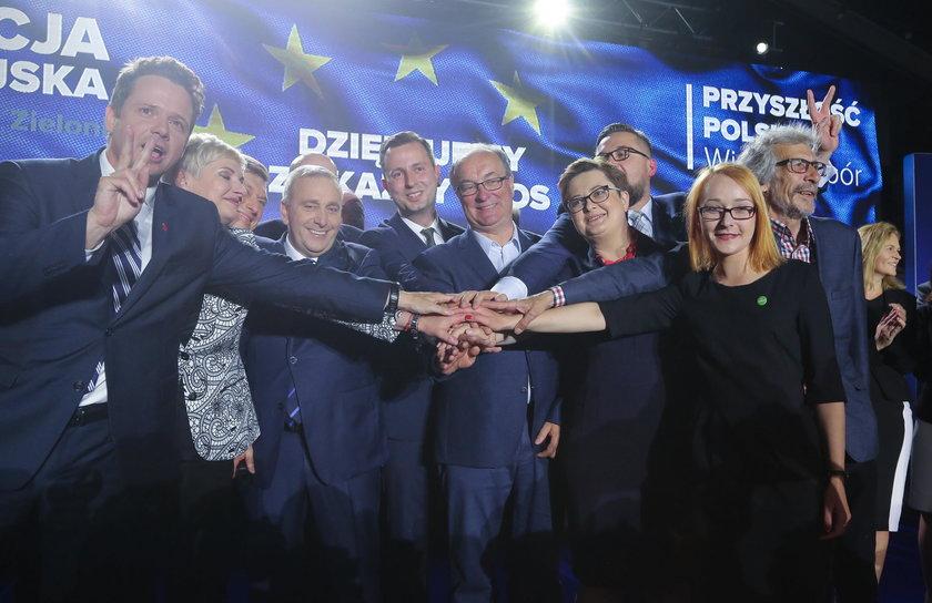 Liderzy Koalicji Europejskiej