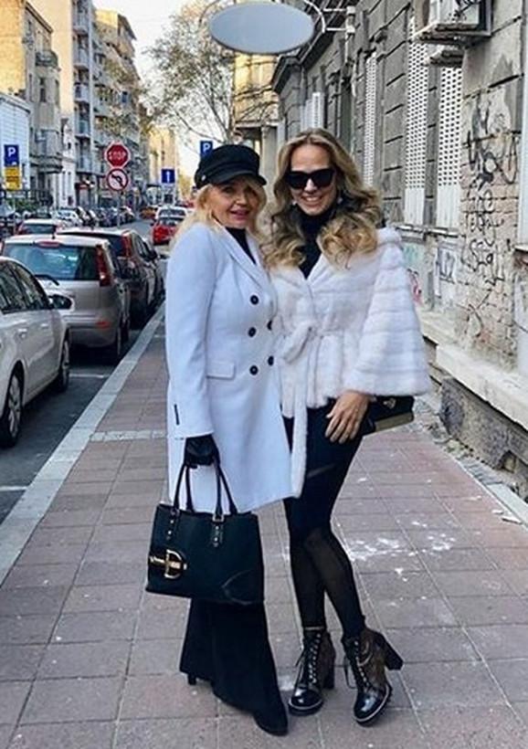 Biljana Ristić sa Marijanom Mateus