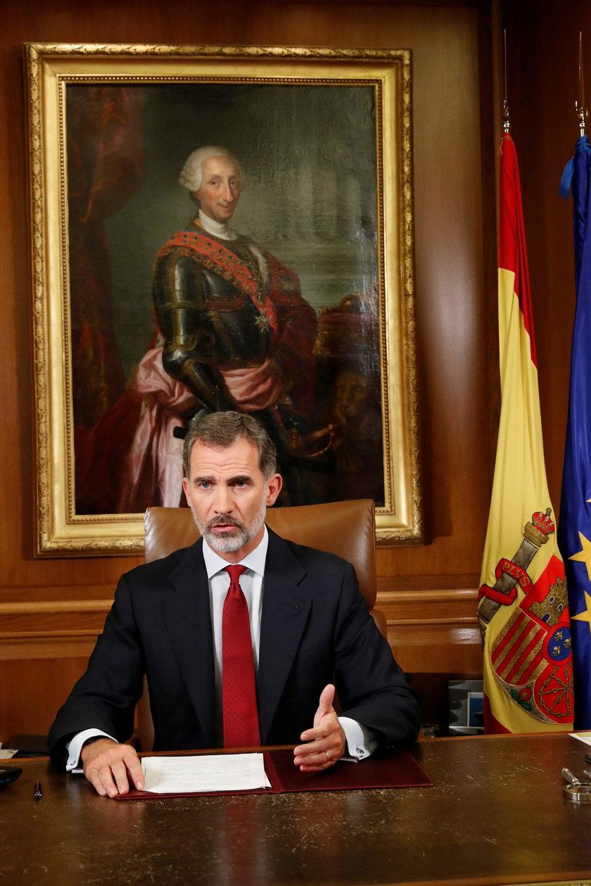 Król Hiszpanii.