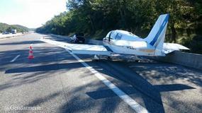 Francja: pilot wylądował na... autostradzie