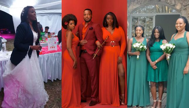 Exclusive photos of Elani's Maureen Kunga's private wedding in Naivasha