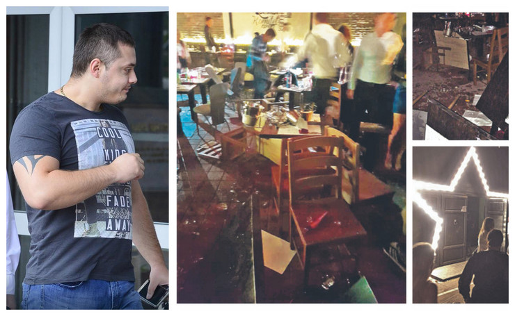 Ekipa Velje Nevolje demolirala lokal i tukla sve pred sobom