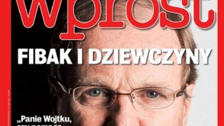 """""""Wprost"""" przekonuje: Król i Jastrun nie odeszli przez Fibaka"""