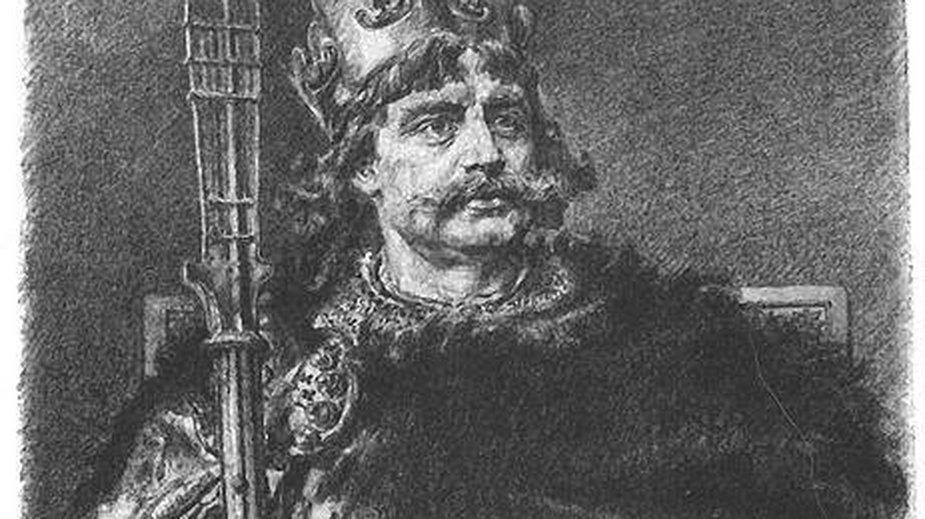 Bolesław Chrobry - autor: Jan Matejko-domena publiczna